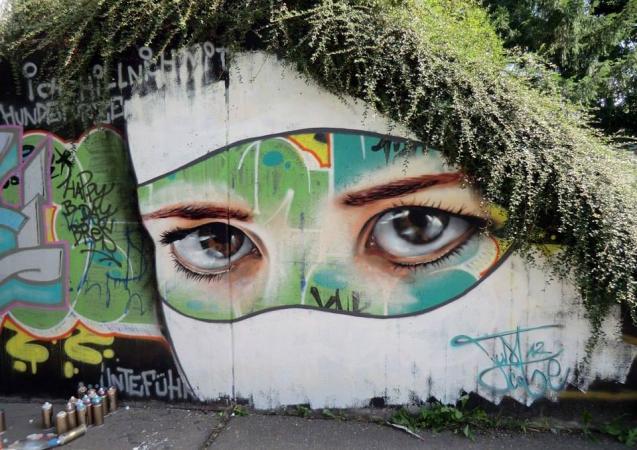 Bush baby eyes