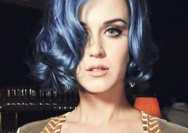 Katie Perry - blue denim
