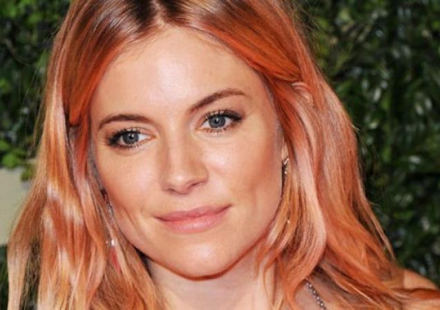 Sienna Miller rose gold