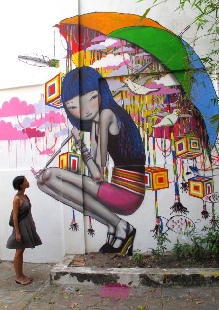 Street art by Seth