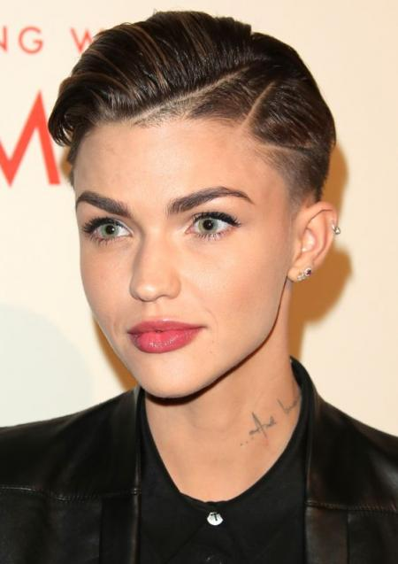Ruby Rose rocking her shaved part