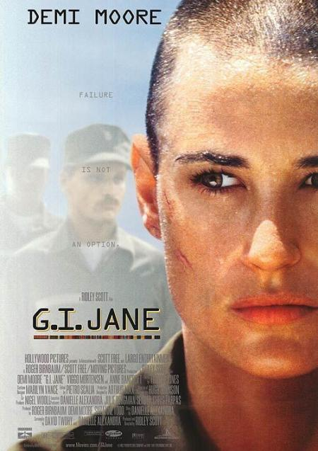 Demi Moore as GI Jane