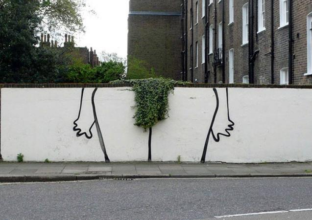 well trimmed bush