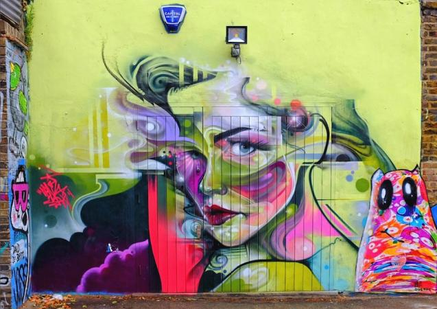 by Mr Cenz in East London England