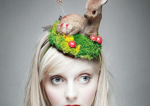 Retro Bambi bonnet