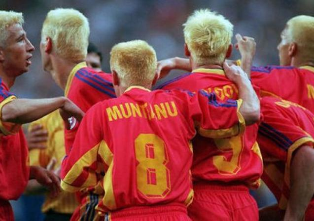 1998 Romanian team bleach