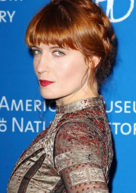 Florence Welsh - Florence & the Machine Rocking her fiery braid.