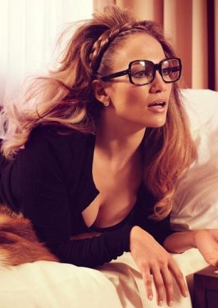 Jennifer Lopez sexy braided headband